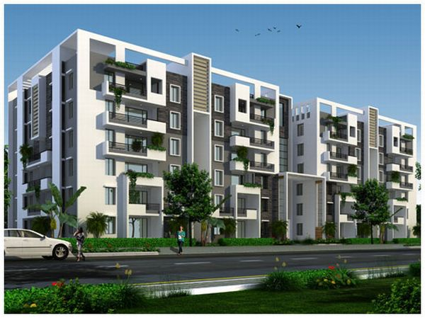 Luxury Apartments 6.5KM from Gachibowli Financial Dt.