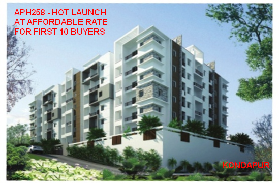 Luxury Apartments  near Kondapur