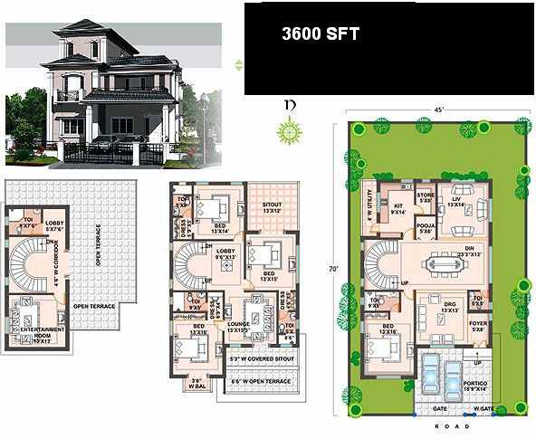 City Row House as well Row House Plans Designs likewise Small House ...